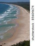 byron bay beach in new south... | Shutterstock . vector #85604674