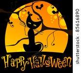 Cute Halloween Illustration...