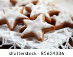 Christmas Cookies With White...
