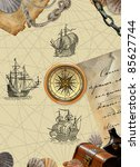 pirate map | Shutterstock . vector #85627744