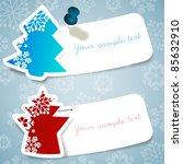 christmas labels | Shutterstock .eps vector #85632910