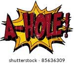 a hole | Shutterstock .eps vector #85636309