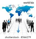 business people | Shutterstock .eps vector #8566279
