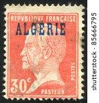 algeria   circa 1924  stamp... | Shutterstock . vector #85666795