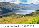 loch lomond  scotland from the... | Shutterstock . vector #85671211