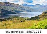 loch lomond  scotland from the... | Shutterstock . vector #85671211