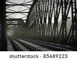 Old Railway Bridge  Prague