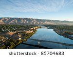 View Of The Snake River In...