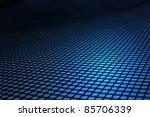 Matrix Blue Background.