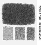 grunge halftone drawing... | Shutterstock .eps vector #85714532