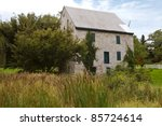 Historic Patterson Mill built in the 1800's - stock photo