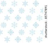 seamless christmas background ... | Shutterstock .eps vector #85747891