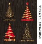 vector set   golden decorative...