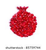 pomegrante | Shutterstock . vector #85759744