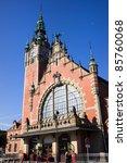 main railway station  polish ...   Shutterstock . vector #85760068