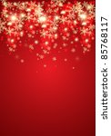 abstract christmas background.... | Shutterstock . vector #85768117