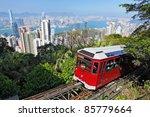 Tourist Tram Peak Hong Kong - Fine Art prints