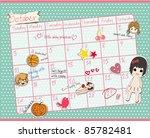 Cute Calendar  October 2011