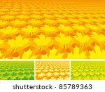 set of abstract leave...   Shutterstock .eps vector #85789363