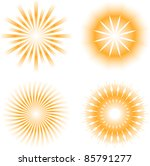 sunburdt abstract design... | Shutterstock .eps vector #85791277