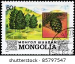 mongolia   circa 1982  a stamp... | Shutterstock . vector #85797547