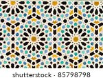 Tiles Decoration In A Moroccan...