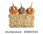 Decorative Pumpkins With...