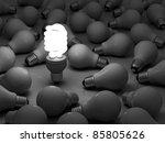 it's time for energy saving... | Shutterstock . vector #85805626