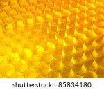 honeycomb like abstract... | Shutterstock . vector #85834180