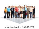 group of business people.... | Shutterstock . vector #85845091