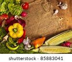 Preparing Fresh Vegetable On...