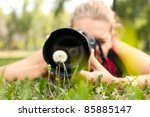 Photographer   Girl Making...