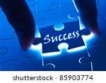 success concept  success word... | Shutterstock . vector #85903774