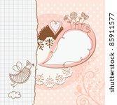 scrapbook elements   Shutterstock .eps vector #85911577