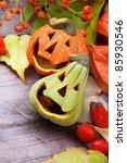 Halloween Vampire Pumpkins ...