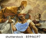 Italian Mural  Florence  Italy