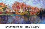 Fall Landscape In Lower Saxony  ...