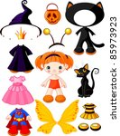 Paper Doll With Three Dresses...