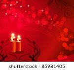 candle  background | Shutterstock . vector #85981405