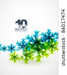 green concept and christmas.... | Shutterstock .eps vector #86017474