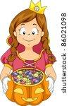 illustration of a kid going... | Shutterstock .eps vector #86021098