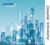 city landscape   Shutterstock .eps vector #86049367