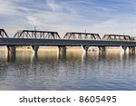 Rail Road Bridge Over Salt...