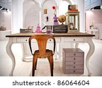detail of living room with work ... | Shutterstock . vector #86064604