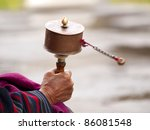 An Older Buddhist Women...
