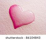 Valentine Greeting Card   Water ...