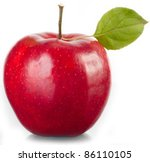 tasty red apple. | Shutterstock . vector #86110105