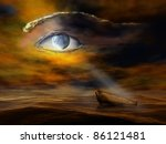 surreal illustration of the... | Shutterstock . vector #86121481