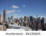 skycrapers and towers in... | Shutterstock . vector #86130604