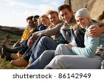 young adults in countryside | Shutterstock . vector #86142949